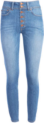 Alice + Olivia GOOD HIGH RISE ANKLE SKINNY JEAN