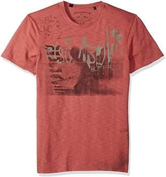 Buffalo David Bitton Men's Timint Short Sleeve Crew Neck T-Shirt
