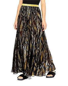 The Upside Luxe Lurex Palazzo Pant