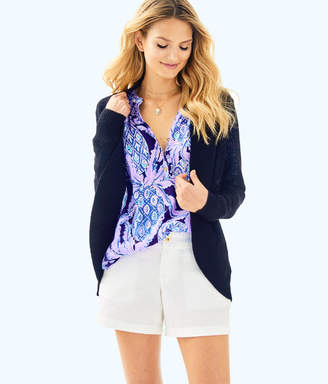 Lilly Pulitzer Womens Amalie Open Front Cardigan