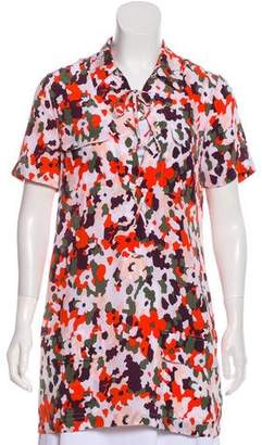 Equipment Silk Camouflage Dress