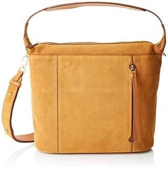 Le Tanneur Women's Elaine Tela1421 Shoulder Door Bags Brown (Cognac)