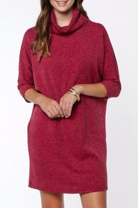 Everly Turtleneck Knit Dress $58 thestylecure.com