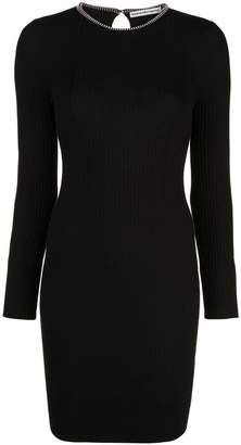 Alexander Wang fitted ribbed dress