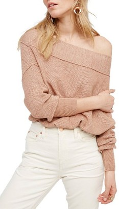 Women's Free People Alana Pullover Sweater $108 thestylecure.com