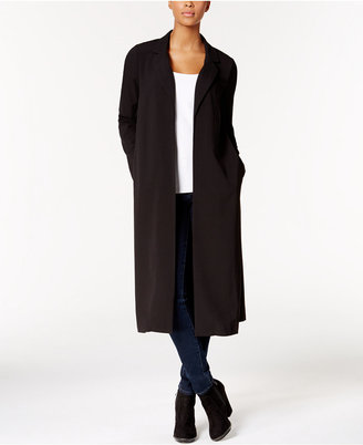 kensie Long Crepe Blazer $99 thestylecure.com