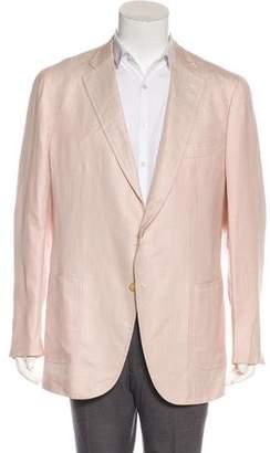 Isaia Linen & Silk Blazer