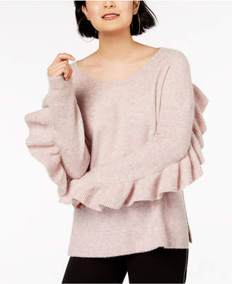 French Connection Ruffled Sweater