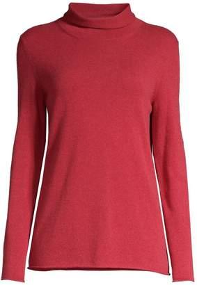 Peserico Mockneck Wool Silk Cashmere Sweater