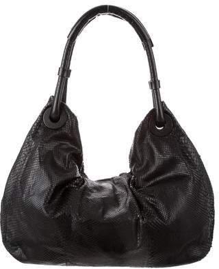 Calvin Klein Collection Python Hobo Bag