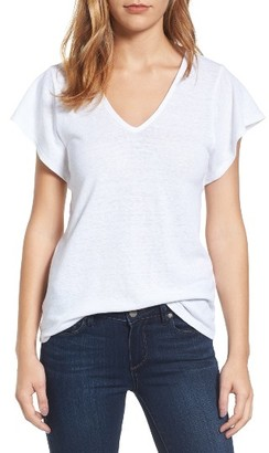Women's Lucky Brand V-Neck Tee $29.50 thestylecure.com