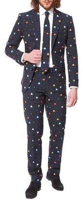 Men's Opposuits 'Pac-Man(TM)' Trim Fit Two-Piece Suit With Tie $109.99 thestylecure.com