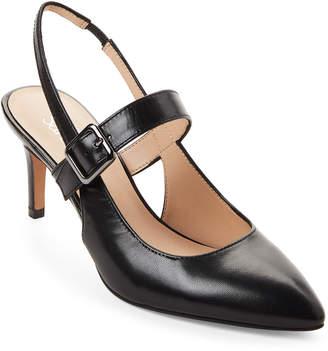 Franco Sarto Black Slingback Martina 2 Heels