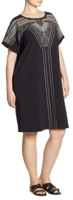 Nic+Zoe Plus Plus Size Havana Nights Tunic Dress