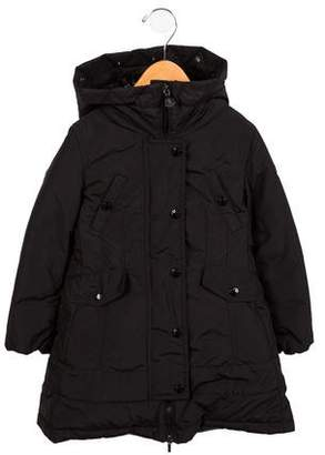 Moncler Girls' Arrious Down Coat