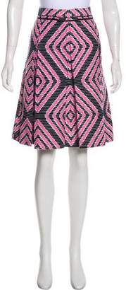 Tory Burch Textured Knee-Length Skirt w/ Tags