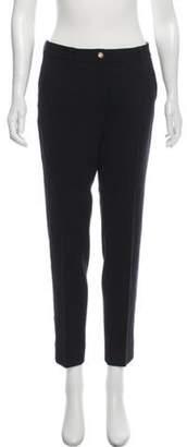 Dolce & Gabbana Skinny Wool Pants Black Skinny Wool Pants