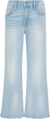 Frame Adeline Le Crop Mid-Rise Bootcut Jeans