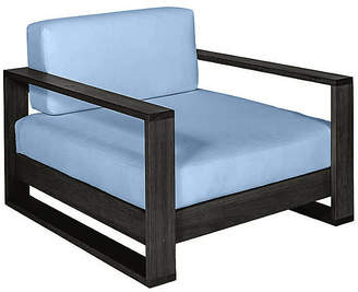Southern Komfort Bed Swings Percy Club Chair - Black/Blue Sunbrella