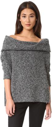 bobi Off Shoulder Sweater $85 thestylecure.com