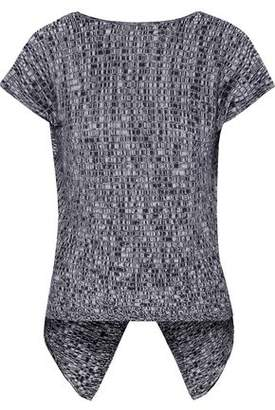 Autumn Cashmere Crossover Marled Cotton Tank