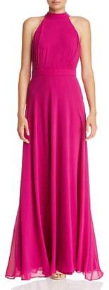 Laundry by Shelli Segal Mock-Neck Gown - 100% Exclusive