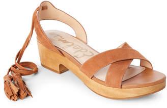 Sam Edelman Saddle Jenna Ankle Wrap Sandals