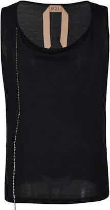 N°21 N 21 Adrienne Wool Silk Tank Top