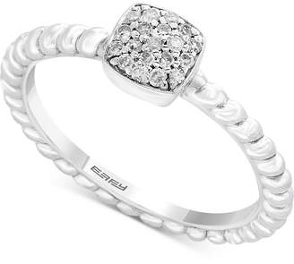 Effy Kidz Children's Diamond Accent Cluster Ring in Sterling Silver