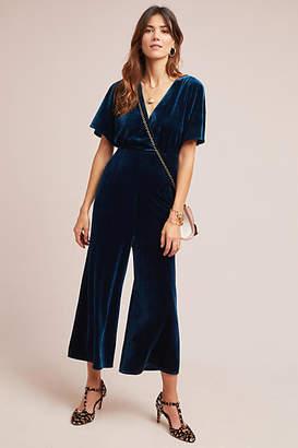 Greylin Luna Velvet Jumpsuit