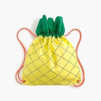 J.Crew Kids' pineapple-shaped drawstring bag