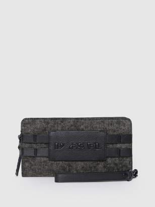 Diesel Zip-Round Wallets PS315 - Grey