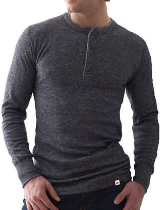 STANFIELD'S Heritage Two-Layer Merino Wool-Blend Henley