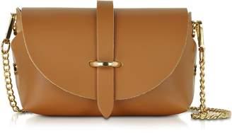 Le Parmentier Caviar Small Cognac Leather Shoulder Bag