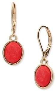 Anne Klein Faceted Drop Earrings