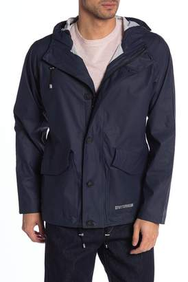 Stutterheim Stenhamra Hooded Rain Jacket