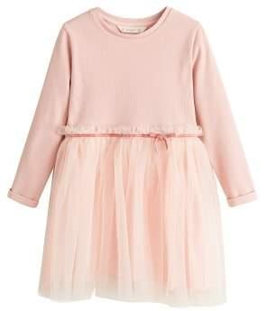 MANGO Tulle skirt dress
