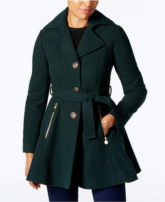 INC International Concepts I.n.c. Skirted Walker Coat