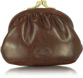The Bridge Brown Leather Coin Purse