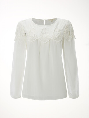 White Stuff Deanna Lace Top