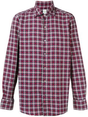 Finamore 1925 Napoli checked shirt