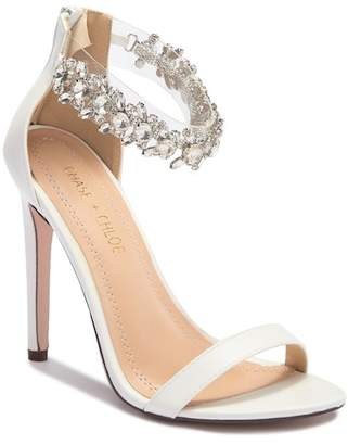 Chloé Chase & Dolcee Embellished Ankle Strap Sandal