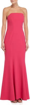 Jill Stuart Peony Strapless Mermaid Gown