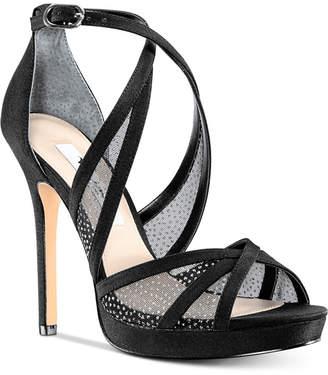 Nina Fenna Platform Evening Sandals Women's Shoes