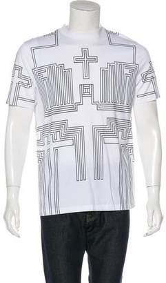 Givenchy Geometric Grid T-Shirt