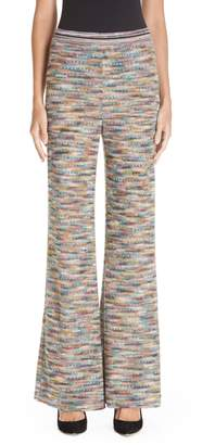 Missoni Knit Flare Pants