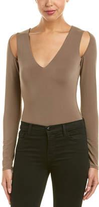BCBGMAXAZRIA Cold-Shoulder Bodysuit