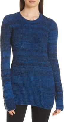 Derek Lam 10 Crosby Bi-Color Crewneck Sweater