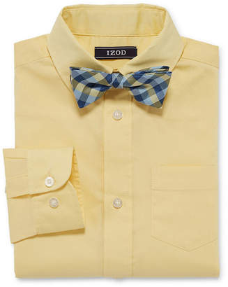 Izod Shirt + Tie Set Boys