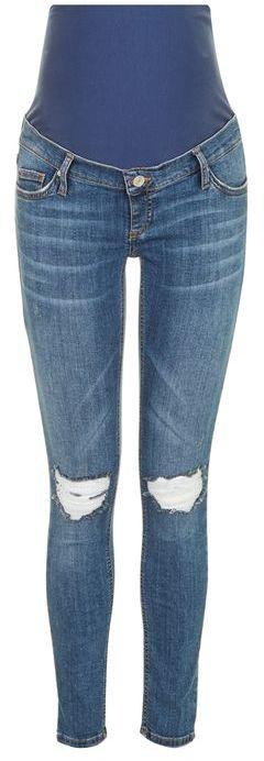 """TopshopTopshop Maternity 32"""" mdt jamie jeans"""
